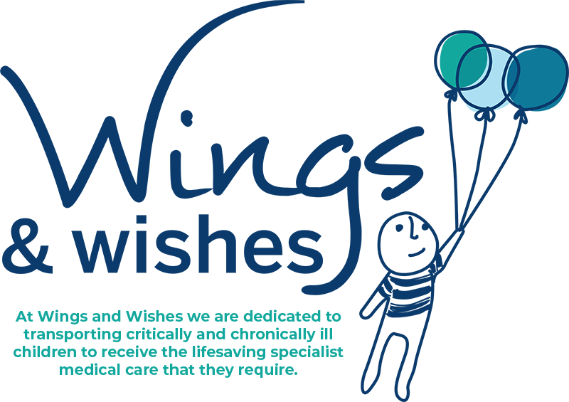 At Wings and Wishes we are dedicated to transporting critically and chronically ill children to receive the lifesaving specialist medical care that they require.