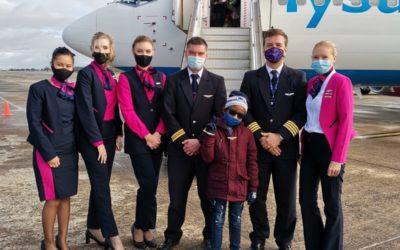 VIP treatment on FlySafair flight